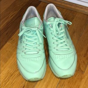 Shoes - Reebok pistachio colored sneakers